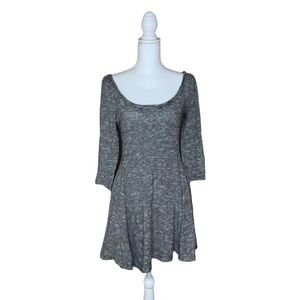 American Eagle Outfitters fit flare dress - medium